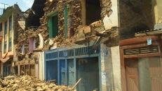 Massive destruction in Bidur Municipality Nuwakot