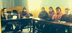 Review meeting with local volunteers from different VDCs in Rasuwa (venue: Sunshine Hotel, Dhunche)